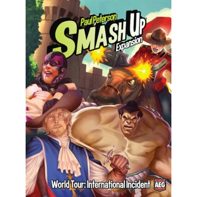 Smash Up: World Tour - International Incident kiegészítő