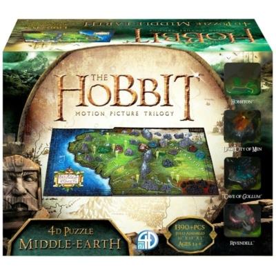 4d Cityscape Puzzle: Hobbit