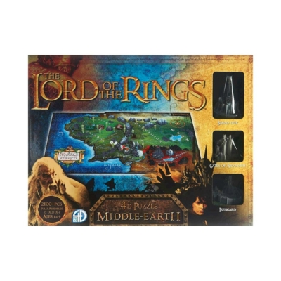 4d Cityscape Puzzle: Middle-Earth