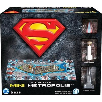 4d Cityscape Puzzle: Mini Metropolis