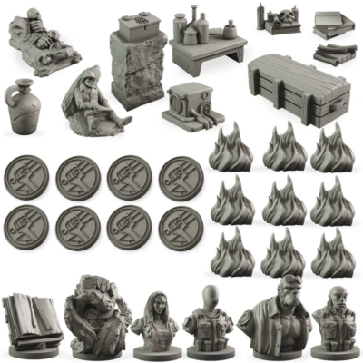 Hellboy: The Board Game - Counter Upgrade Set