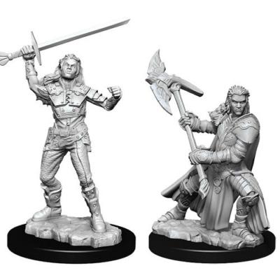 D&D Nolzur's Marvelous Miniatures: Half-Orc Fighter Female