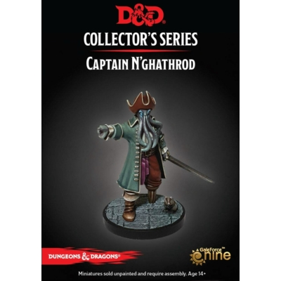 D&D Collector's Series: Dungeon of the Mad Mage: Captain N'ghathrod