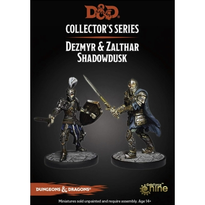 D&D Collector's Series: Dungeon of the Mad Mage - Dezmyr & Zalthar Shadowdusk