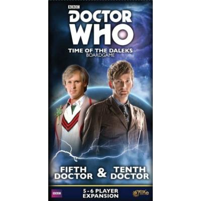 Doctor Who: Time of the Daleks - 5th & 10th Doctor kiegészítő