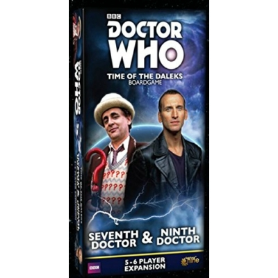 Doctor Who: Time of the Daleks - 7th & 9th Doctor kiegészítő