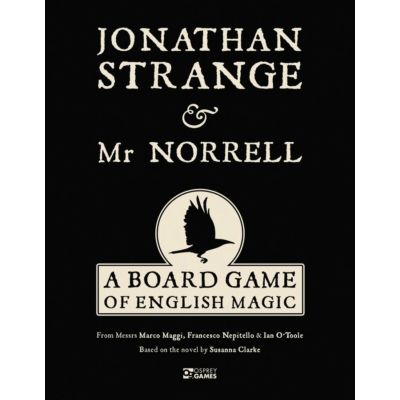 Jonathan Strange & Dr. Norrell: A Board Game of English Magic