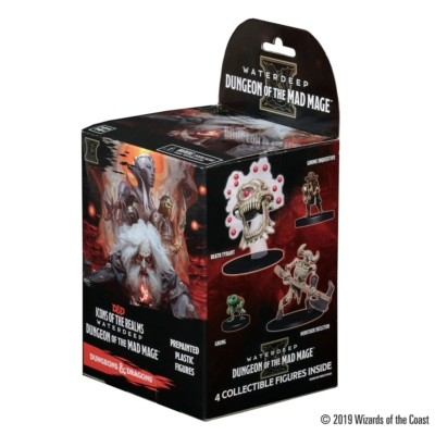 D&D Icons of the realms: Waterdeep - Dungeon of the Mad Mage Booster Box