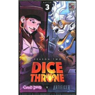 Dice Throne: Season 2 - Cursed Pirate v. Artificer