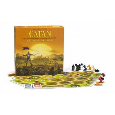 Catan: A hódítók legendája (Lovagok és városok kiegészítő)