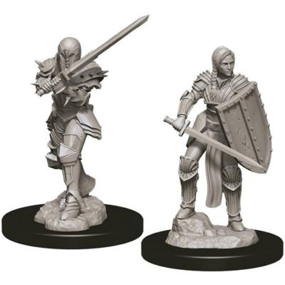 D&D Nolzur's Marvelous Miniatures: Human Fighter Female