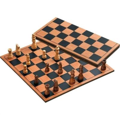 Sakk készlet fából, összehajtható - 2709