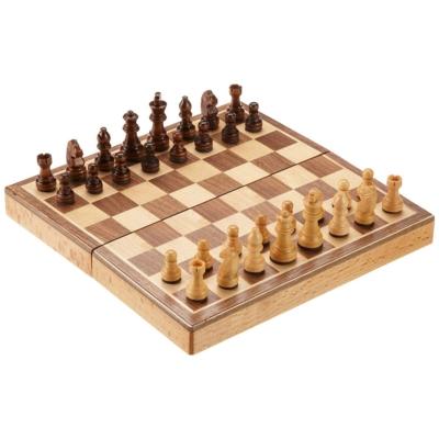 Sakk-készlet fából, mágneses - 2723