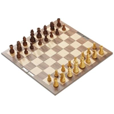 Sakk-készlet fából, összehajtható - 2728