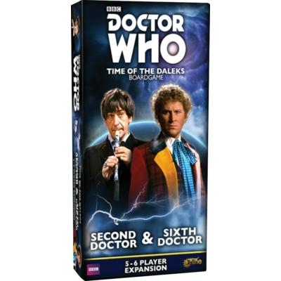 Doctor Who: Time of the Daleks - 2nd & 6th Doctor kiegészítő
