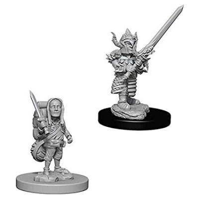 D&D Nolzur's Marvelous Miniatures: Halfling Fighter Male