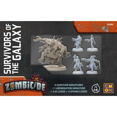 Zombicide: Invaders - Survivors of the Galaxy