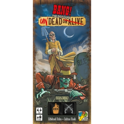 Bang! The Dice Game - Undead or Alive kiegészítő