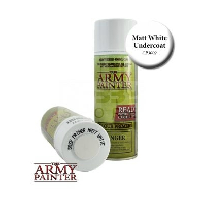 Army painter - Matt White alapozó spray