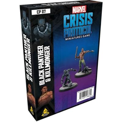 Marvel: Crisis Protocol - Black Panther & Killmonger