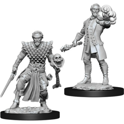 D&D Nolzur's Marvelous Miniatures: Human Warlock Male