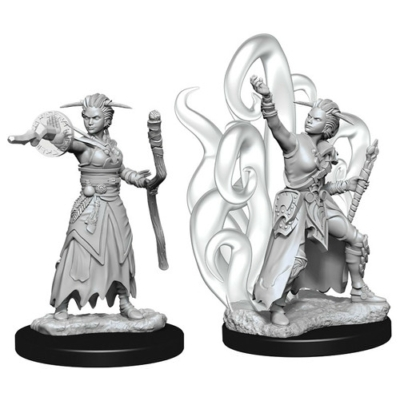 D&D Nolzur's Marvelous Miniatures: Human Warlock Female