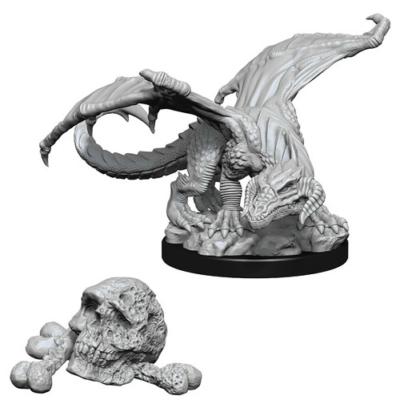 D&D Nolzur's Marvelous Miniatures: Black Dragon Wyrmling
