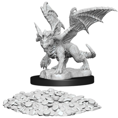 D&D Nolzur's Marvelous Miniatures: Blue Dragon Wyrmling