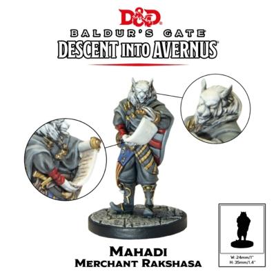 D&D Collector's Series: Descent into Avernus - Mahadi