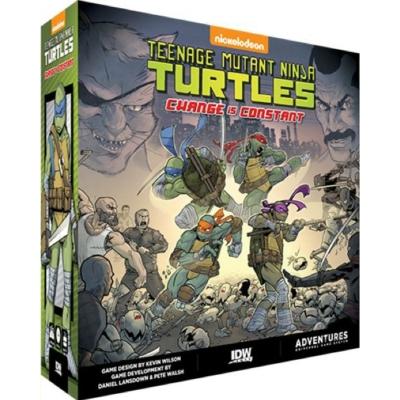 Teenage Mutant Ninja Turtles: Change is Constant