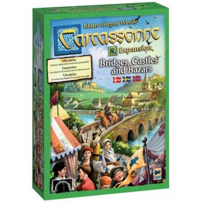 Carcassonne 8. Bridges, Castles & Bazars (skandináv kiadás)