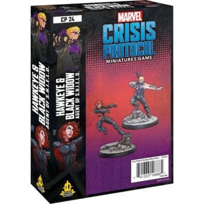 Marvel: Crisis Protocol - Hawkeye & Black Widow