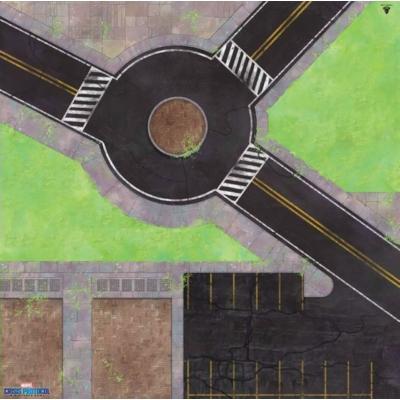 Marvel: Crisis Protocol - Roundabout Knockout Playmat