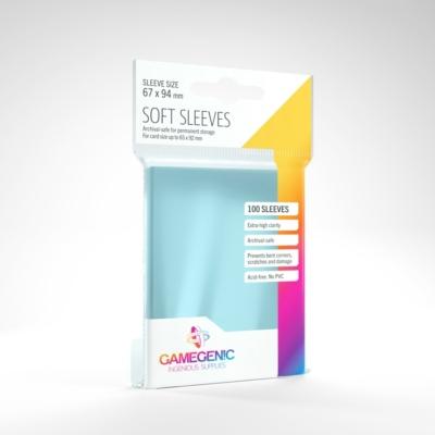 GameGenic Soft Sleeves - 67x94mm (100 db/csomag)