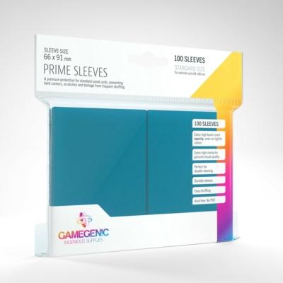GameGenic Prime Sleeves, kék - 66x91mm (100 db/csomag)