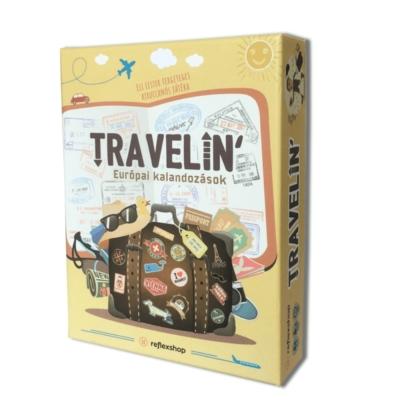 Travelin - Európai kalandozások társasjáték
