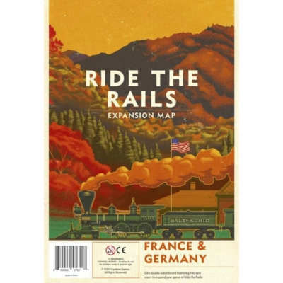 Ride the Rails: France & Germany kiegészítő