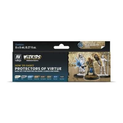 Wizkids Premium set by Vallejo: Protectors of Virtue festékszett