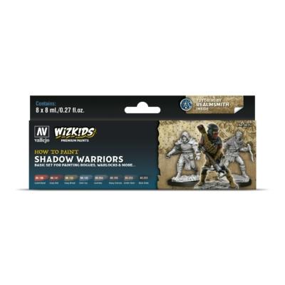 Wizkids Premium set by Vallejo: Shadow Warriors festékszett