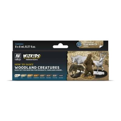 Wizkids Premium set by Vallejo: Woodland Creatures festékszett