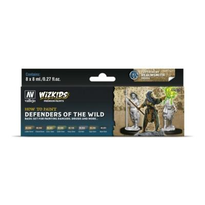 Wizkids Premium set by Vallejo: Defenders of the Wild festékszett