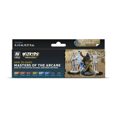 Wizkids Premium set by Vallejo: Masters of the Arcane festékszett
