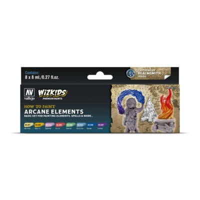 Wizkids Premium set by Vallejo: Arcane Elements festékszett