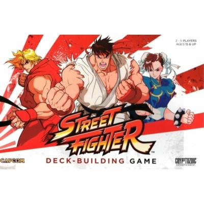 CapCom Street Fighter Deck-Building Game