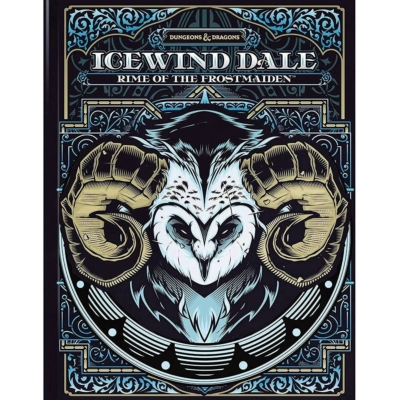 Dungeons & Dragons 5th edition: Icewind Dale - Rime of the Frostmaiden (alternate cover)