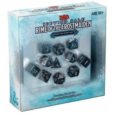 Dungeons & Dragons: Rime of the Frostmaiden Dice & Miscellany