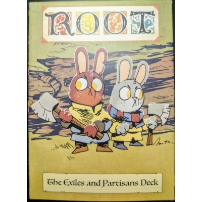 Root: The Exiles and Partisans kiegészítő pakli