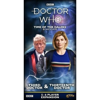 Doctor Who: Time of the Daleks - 3rd & 8th Doctor kiegészítő