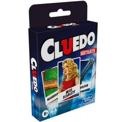 Cluedo kártyajáték