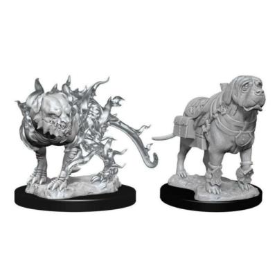 D&D Nolzur's Marvelous Miniatures: Mastif & Shadow Mastif